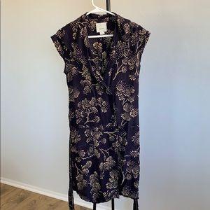 Plum Anthropologie Maeve dress